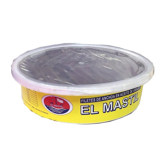 ANCHOAS MASTIL 130 filetes 1kg